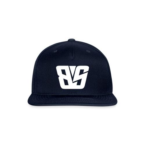 BS noir small - Snapback Baseball Cap