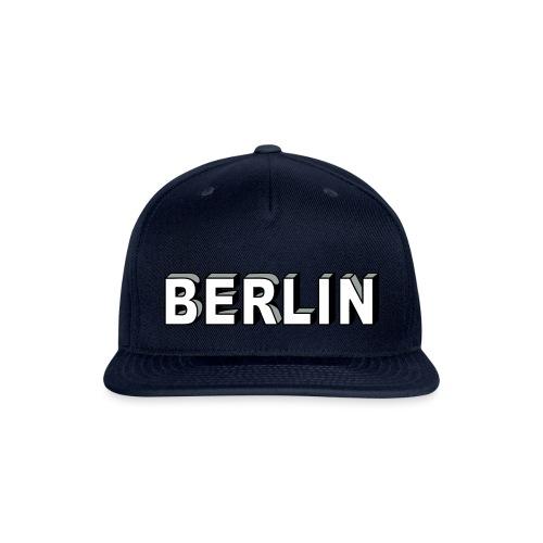 BERLIN Block Letters - Snapback Baseball Cap