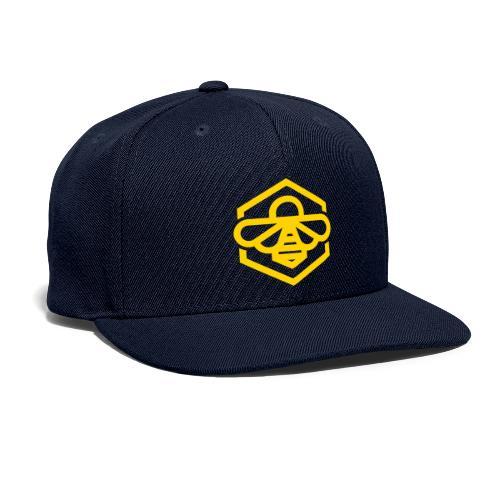 bee symbol orange - Snapback Baseball Cap