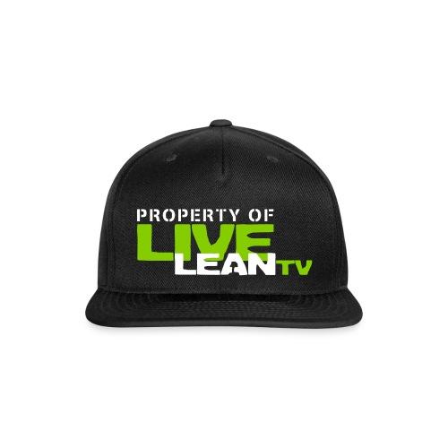 leanhat2 - Snapback Baseball Cap