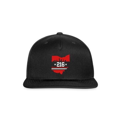 Cleveland 216 - Snapback Baseball Cap