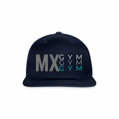 MX Gym Minimal Hat 3 - Snapback Baseball Cap
