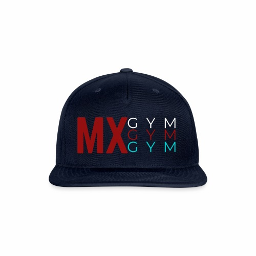 MX Gym Minimal Hat 4 - Snapback Baseball Cap