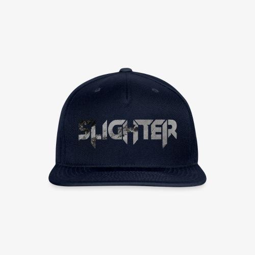 Slighter Line Glitch Logo - Snapback Baseball Cap