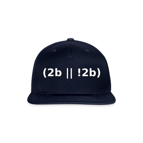 2b    !2b - Snapback Baseball Cap