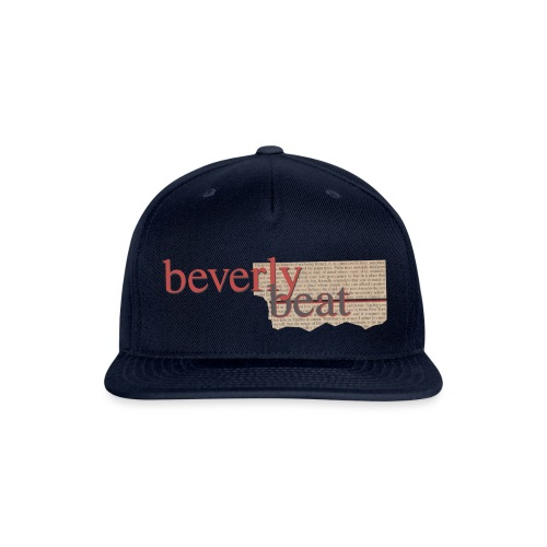 BevBeat Shirt 90210 01 - Snapback Baseball Cap