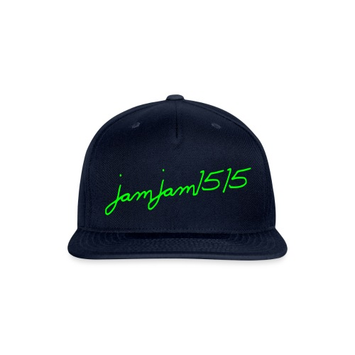jamjam1515 Logo - Snapback Baseball Cap