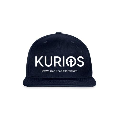 Kurios Classic Logo (White) - Snapback Baseball Cap