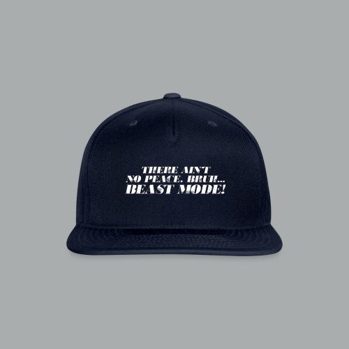 No Peace Bruh! - Snap-back Baseball Cap