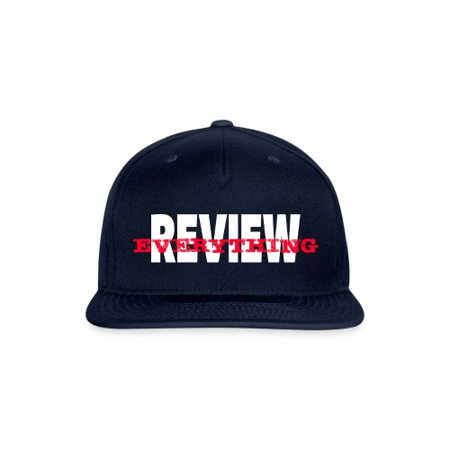 Review Everything! - Snap-back Baseball Cap