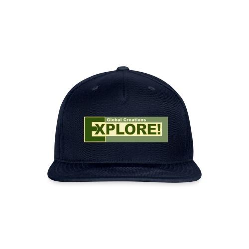 Explore Logo - Snapback Baseball Cap