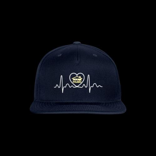 House Music Pulse! - Snap-back Baseball Cap
