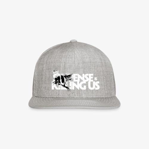 Suspense Is Killing Us Black Eye Logo - Snapback Baseball Cap