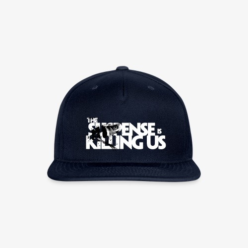 Suspense Is Killing Us Black Eye Logo - Snapback Baseball Cap