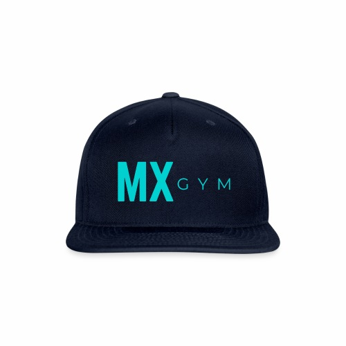 MX Gym Minimal Long Teal - Snapback Baseball Cap