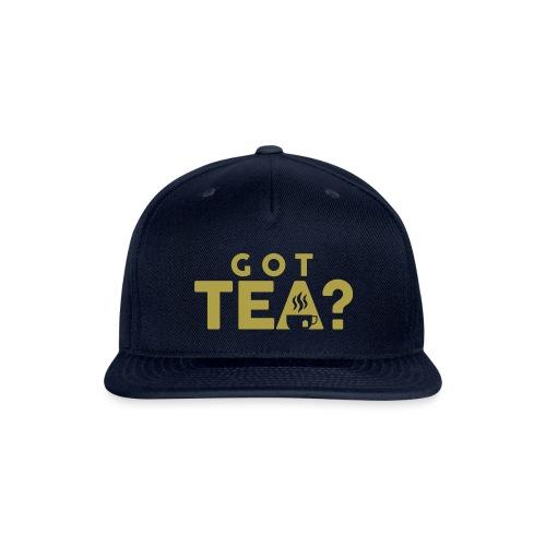 Got Tea GOLD - Snapback Baseball Cap