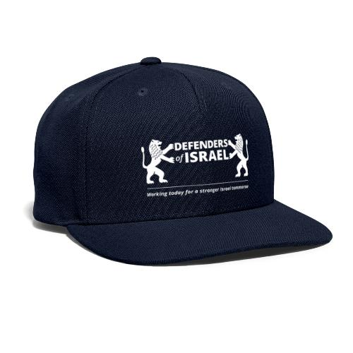 Defenders Of Israel White - Snapback Baseball Cap