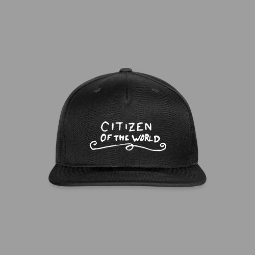 Citizen of the World - Snapback Baseball Cap