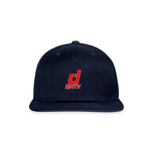DHTV_Logo_New - Snap-back Baseball Cap