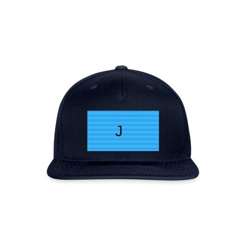 The J - Snapback Baseball Cap
