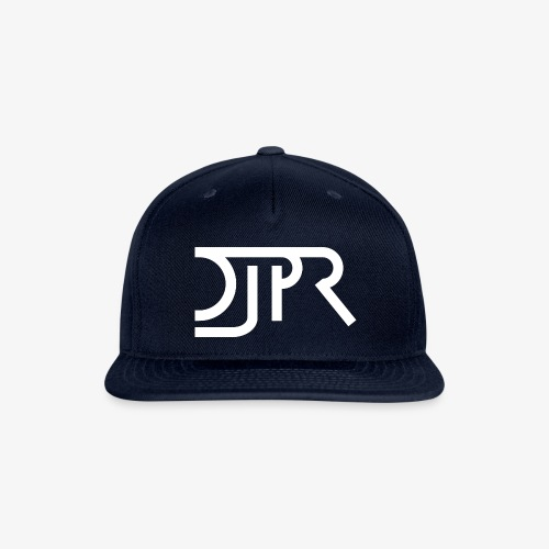 DJPR logo - Snapback Baseball Cap