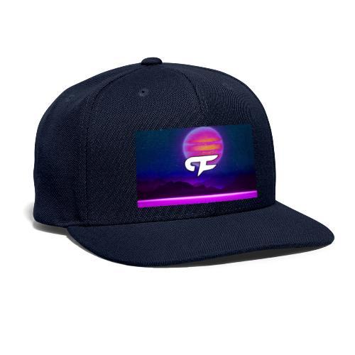 FLORA PLANET LOGO - Snapback Baseball Cap