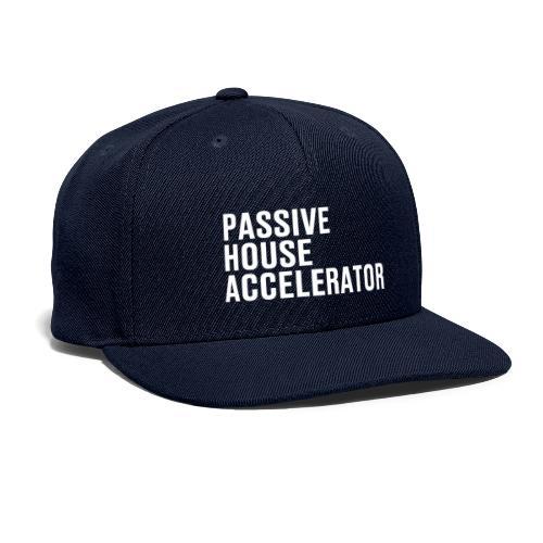 Passive House Accelerator Logo - Snapback Baseball Cap
