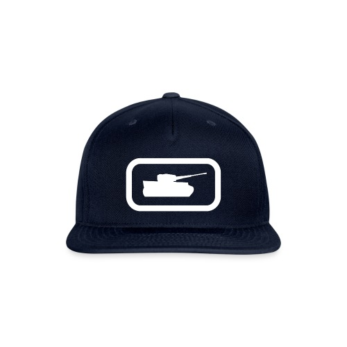 Tank Logo (White) - Axis & Allies - Snapback Baseball Cap