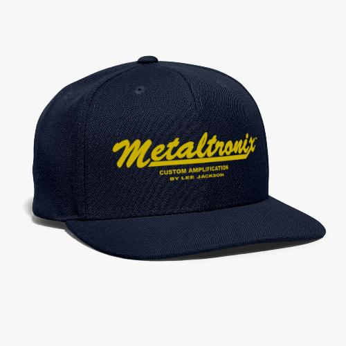 Metaltr Teeshirts Gol - Snapback Baseball Cap