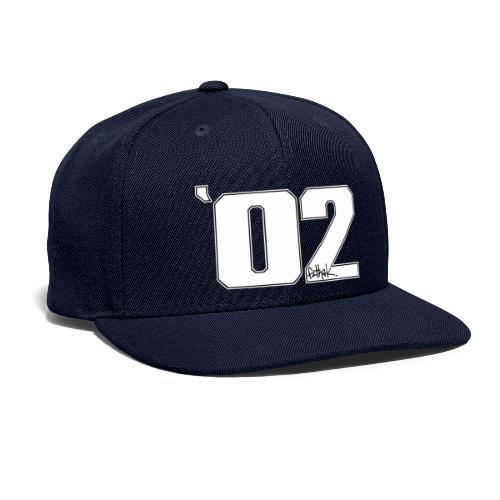 2002 (White) - Snapback Baseball Cap