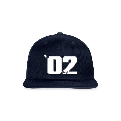 2002 (White) - Snap-back Baseball Cap