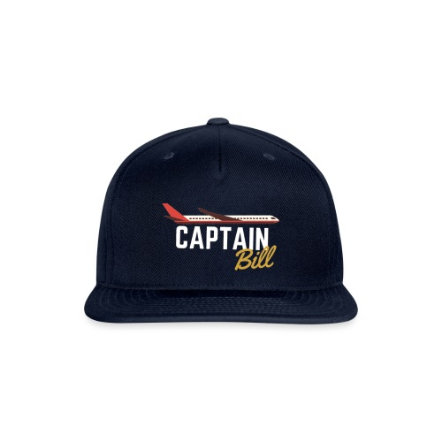 Captain Bill Avaition products - Snapback Baseball Cap
