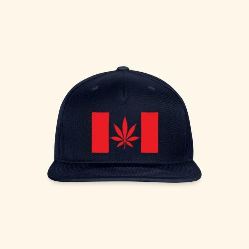 Canada's flag - Snapback Baseball Cap
