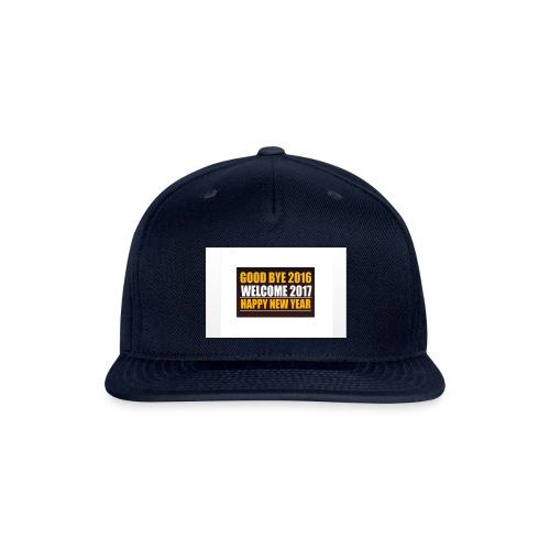 2017 - Snapback Baseball Cap