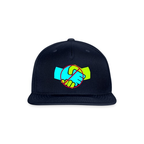 Don't Shake Hands - Snap-back Baseball Cap
