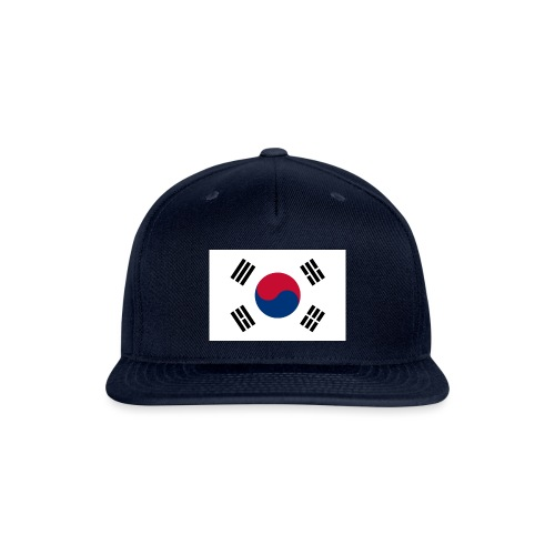 Flag of South Korea - Snap-back Baseball Cap