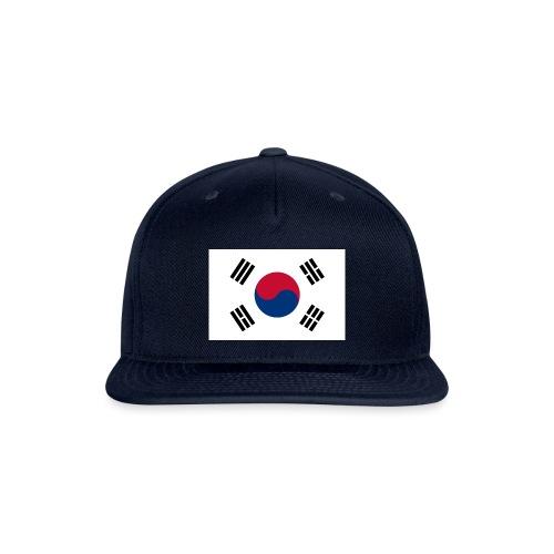 Flag of South Korea - Snapback Baseball Cap