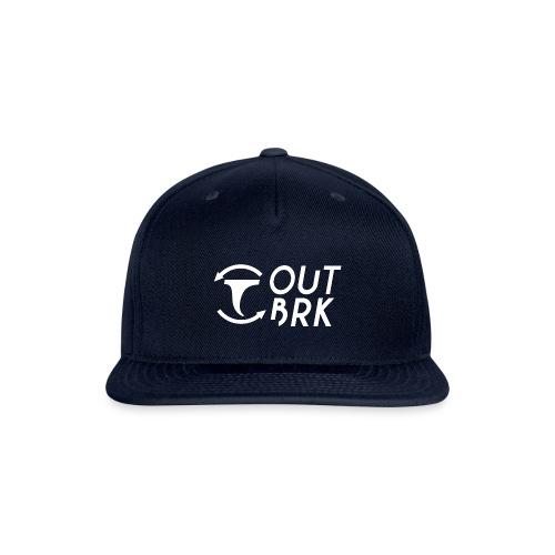 OUTBRK Logo square - Snapback Baseball Cap