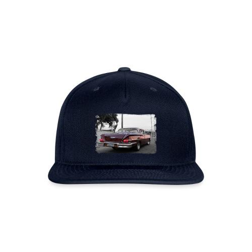 wine red car - Snapback Baseball Cap