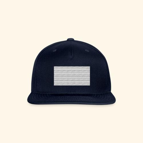 SLICK SLACK POLY'S ON THE BACK - Snapback Baseball Cap