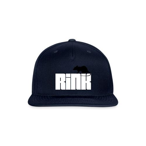 Rink Rat - Snapback Baseball Cap
