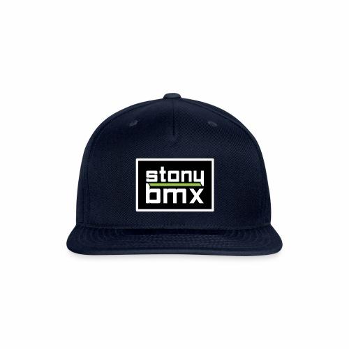 Stony Plain BMX Club Logo - Snap-back Baseball Cap