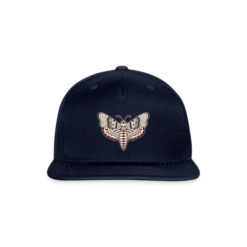Death Head Moth Dark - Snap-back Baseball Cap