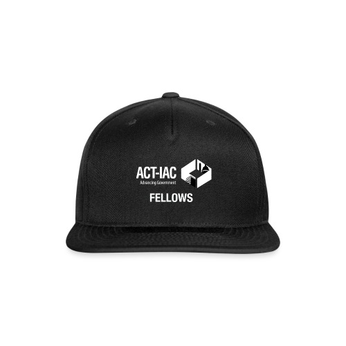 BW WITH TEXT Fellows actiac logo cmyk - Snapback Baseball Cap