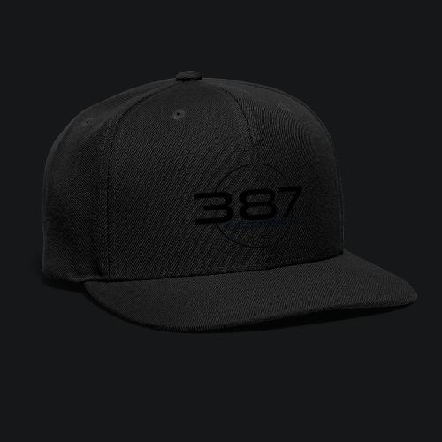 387 Entertainment Black - Snapback Baseball Cap