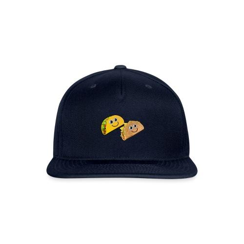 Taco Button - Snapback Baseball Cap