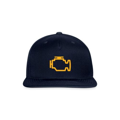 Check Engine Light CEL - Snap-back Baseball Cap