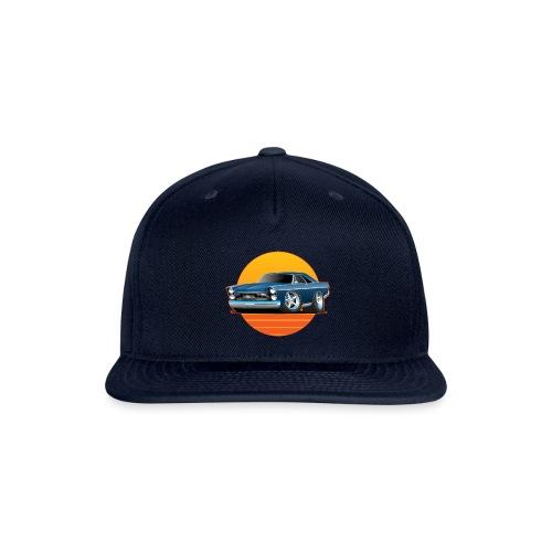 Classic Sixtes Big American Muscle Car - Snap-back Baseball Cap
