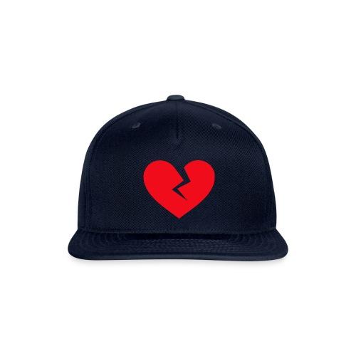 Broken Heart - Snapback Baseball Cap