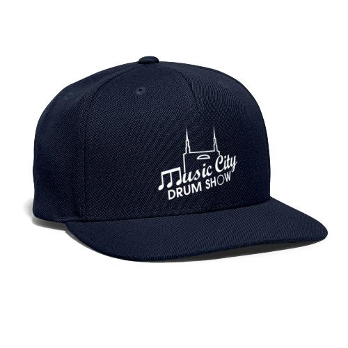 Music City Drum Show Logo - Snapback Baseball Cap